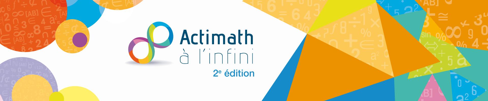 Actimath A L Infini 2e Edition Van In Secondaire