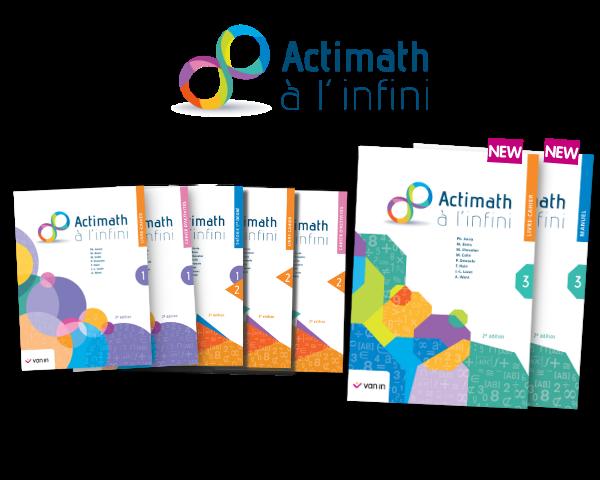 Découvrez tous les avantages de la nouvelle édition d'Actimath à l'infini ! (Partie I)